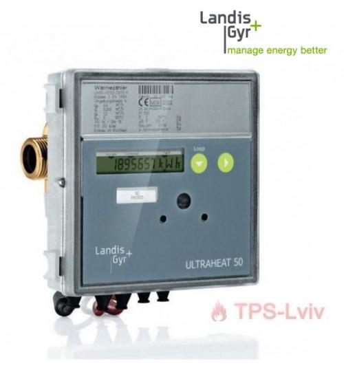 Лічильник тепла ULTRAHEAT Т550/UH50 ультразвуковий муфтовий Landis+Gyr GmbH (Німеччина)